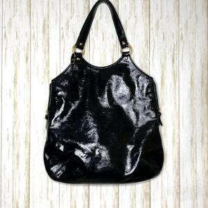 Yves Saint Laurent Tribute Patent Leather Tote